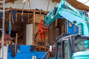 建物の解体工事