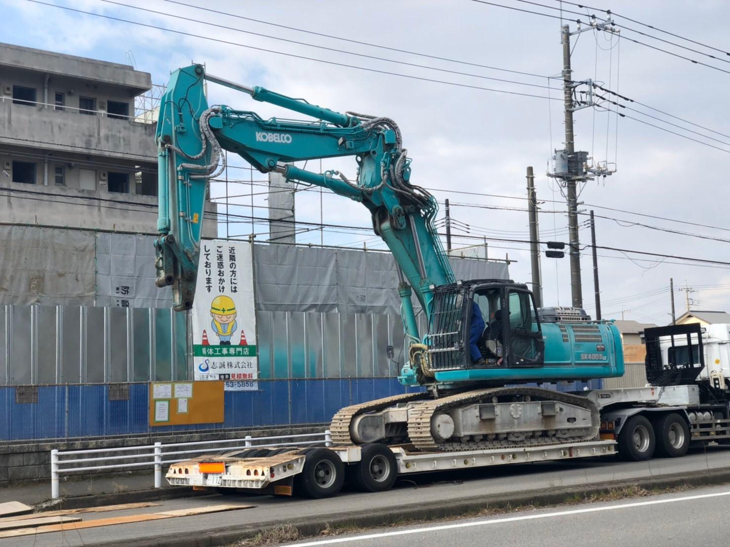 千葉県白井市 | RC造600坪の解体を行いました
