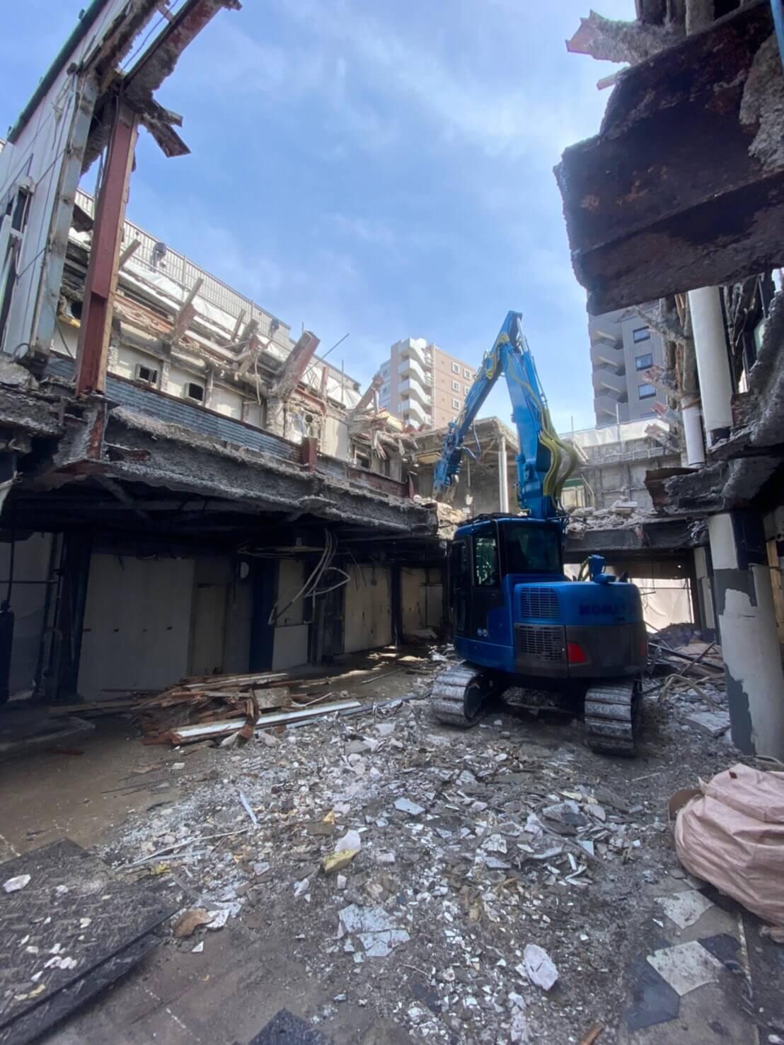 千葉県浦安市 | 解体工事 | 鉄骨造100坪